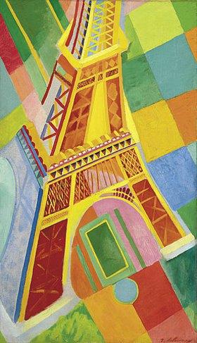Robert Delaunay: Tour Eiffel