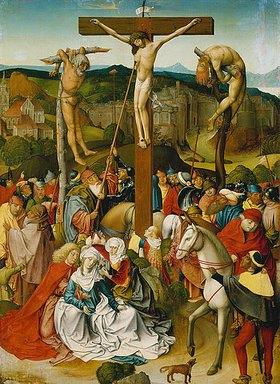 Rueland Frueauf d.J.: Kreuzigung Christi