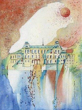 Annette Bartusch-Goger: Königliches Sommerschloss Drottningholm, Schweden