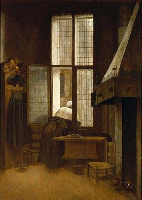 Jacobus Vrel: Frau am Fenster