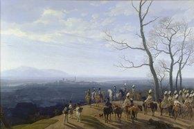 Wilhelm von Kobell: Die Belagerung von Kosel 1806. Entstanden