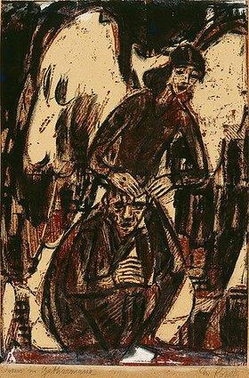 Christian Rohlfs: Jesus in Gethsemane