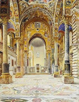 Joseph Theodor Hansen: La Martorana, Palermo
