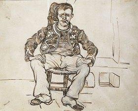 Vincent van Gogh: Sitzender Zuave