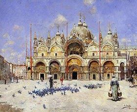 Rafael Senet: Markusdom, Venedig