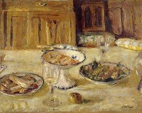 Edouard Vuillard: Gebäck und Obstkompott