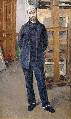 Gustave Caillebotte: Bildnis von Pierre Rabot