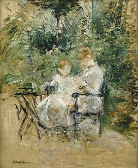 Berthe Morisot: Mutter und Tochter im Garten