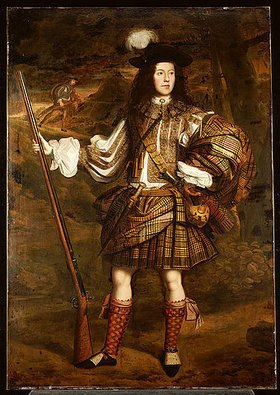 John Michael Wright: Ein Häuptling aus den Highlands: Portrait von Lord Mungo Murray (1668-1700)