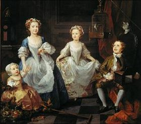 William Hogarth: Die Graham-Kinder