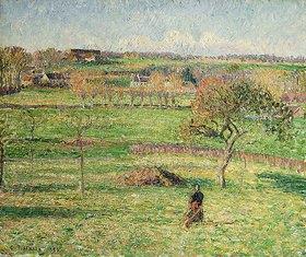 Camille Pissarro: Felder im Herbst bei Bazincourt