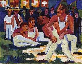 Ernst Ludwig Kirchner: Ringer