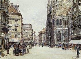 Rudolf Bernt: Stephansplatz, Wien