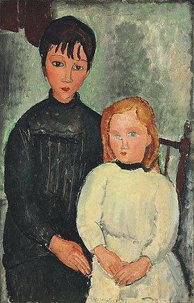 Amadeo Modigliani: Die beiden Mädchen