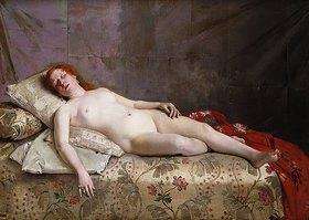 Jeanne Bordes-Guyon: Schlafender Akt