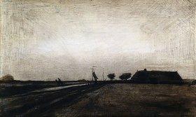 Vincent van Gogh: Sonnenaufgang. 1883 (in Drenthe)