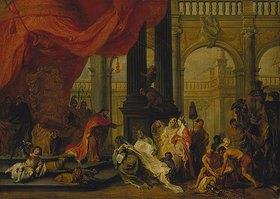 Balthasar Beschey: Salomo und die Königin von Saba