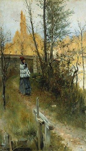 Carl Larsson: Herbst (Karin I Grez (Hostmotiv))
