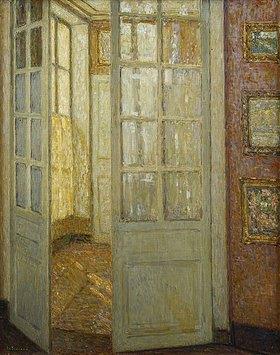 Henri Le Sidaner: Goldenes Licht, Versailles