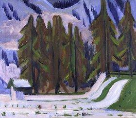 Ernst Ludwig Kirchner: Der erste Schnee