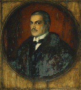 Franz von Stuck: Selbstbildnis