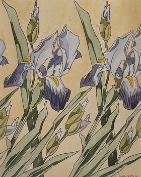 Koloman Moser: Iris