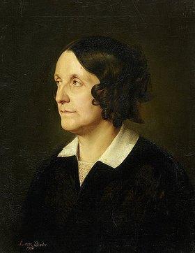 Leopold von Bode: Bildnis Bode (Mutter des Künstlers)