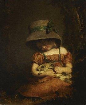 John Hoppner: Mädchen mit Kaninchen