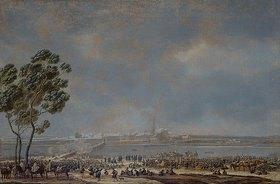 Wilhelm von Kobell: Die Schlacht bei Braunau (oder: Die Einnahme von Braunau am 28. Okt. 1805)