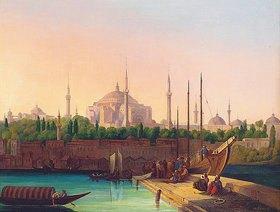 August Finke: Hagia Sophia, Istanbul