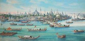 Jean Spath: Ansicht von Konstantinopel vom Wasser aus