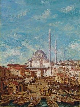 Robert Charles Gustave Laurens Mols: Die Yeni-Moschee, Konstantinopel