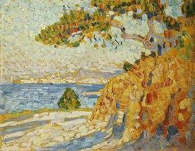 Theo van Rysselberghe: Landschaft in der Mittagssonne