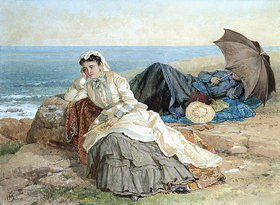 Albert Fitch Bellows: Gedankenvolle Blicke aufs Meer