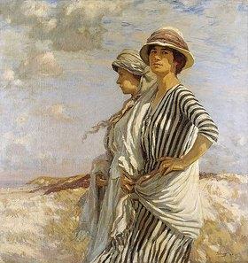 Algernon Talmage: Mrs. Talmage und eine Freundin