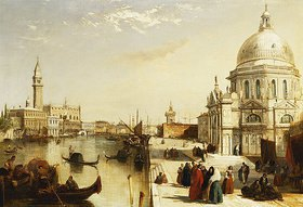 Edward Pritchett: Der Canal Grande mit Santa Maria Della Salute, Venedig