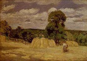 Camille Pissarro: La Moisson a Montfoucault