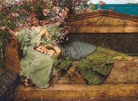 Sir Lawrence Alma-Tadema: Im Rosengarten