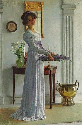 William Henry Margetson: Lavendelernte