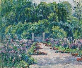 Blanche Hoschedé-Monet: Der Garten