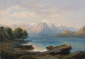 Theodor Presuhn d.Ä.: Am Genfer See