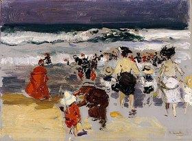 Joaquin Sorolla: Am Strand von Biarritz