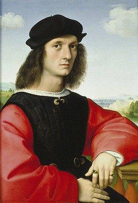 Raffael (Raffaello Sanzio): Bildnis des Agnolo Doni