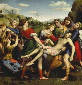 Raffael (Raffaello Sanzio): Grablegung Christi
