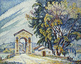 Paul Signac: Brücke in Bourg-Saint-Andéol