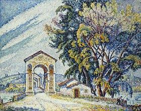 Paul Signac: Brücke in Bourg-Saint-Andéol