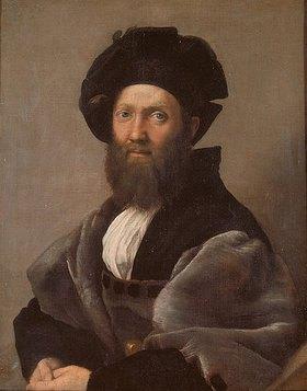 Raffael (Raffaello Sanzio): Bildnis des Baldassar Castiglione