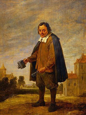 David Teniers: Der Sammler mit einer Rassel in der Hand