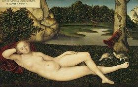 Lucas Cranach d.Ä.: Ruhende Quellnymphe