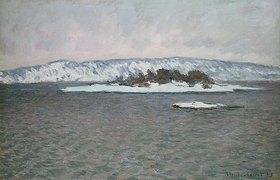 Claude Monet: Der Fjord von Christiania (Oslo)
